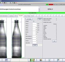 Дисплей- инспектор стенки бутылки