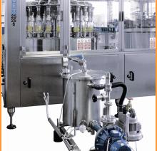 Система рециркуляции позвволяет постоянно поддерживать заданную температуру продукта