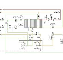 Схема установки горячей деаэрации воды COROSYS