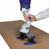 Двойной захват для сшитых, заклеенных, обвязанных и открытых картонных коробок, а также для небольших древесных плит.