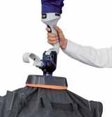 Захват 2-в-1 Комбинация присоски и крюка для перемещения багажа чемоданов или сумок.