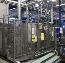 Б/У Автоматическая линия асептического налива натурального сока и тихих сока содержащих напитков в бутылку типа ПЭТ объёмом 0,5 и 1,0 литр