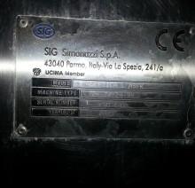 Б/У Триблок розлива SIG Simonazzi S.p.A Модель: ASEPTICA Linea — ASFK Производительность: 0,5 л — 10 000 бут.час 1,0 л – 8000 бут. час