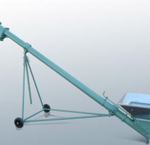 Трубчатый шнек TS 130 с загрузочной воронкой и регулировочным шибером