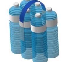 Ручка для упаковки пластиковых бутылок